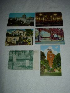 Harrisburg PA - Lot Of 6 Great Vintage Postcards - x0579