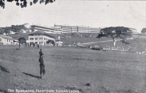 The Barracks, FREETOWN, Sierra Leone, 1900-1910s