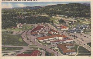 OAK RIDGE, Tennessee, PU-1953; Air View Of Town Site
