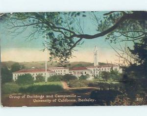 Divided-Back BUILDINGS AT UNIVERSITY OF CALIFORNIA Berkeley California CA L8309