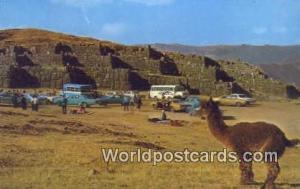 Cuzco, Peru Ruinas de Sacsahuaman  Ruinas de Sacsahuaman