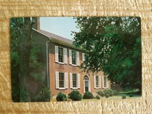WICKLAND-HOME OF THREE GOVERNORS-BARDSTOWN,KENTUCKY.VTG POSTCARD*P23
