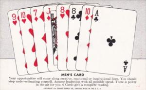 Vintage Arcade Card Men's Card Your Opportunities