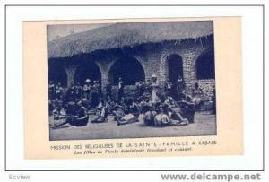 Mission Des Religieuses De La Sainte-Famille a Kabare 0