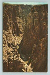 Black Canyon, Gunnison Monument, Colorado Postcard