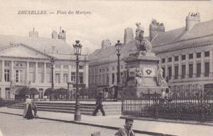 Place Des Martyrs, Bruxelles, Belgium, 1900-1910s