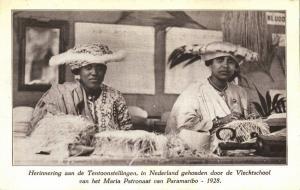 suriname, Expo Rememberance Maria Patronage Braiding School of Paramaribo (1928)