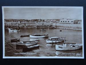Wales PORTHCAWL The Harbour c1950's RP Postcard by D. Constance Ltd