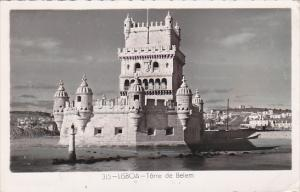 Portugal Lisboa Torre de Belem Real Photo