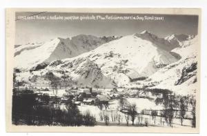 RP France Valloire Raticieres Crey Rond Hiver Alp Real Photo