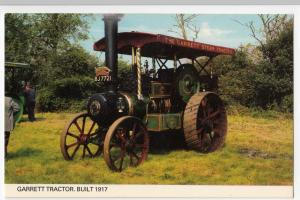 Steam; Garrett Tractor, BJ 7721, Built 1917 PPC, by Colourmaster, Unused