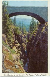 Box Canyon of the Cowletz Mt. Rainier National Park WA