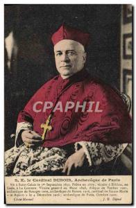 Old Postcard HE Cardinal Archbishop of Paris Dubois Do in Saint Calais
