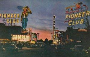LAS VEGAS , Nevada , 50-60s ; Howdy Podner Neon Light Sign