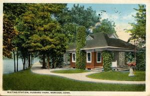 CT - Meriden.  Hubbard Park Waiting Station