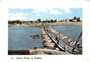 Iraq Ancient Bridge of Bahdad Vintage Cars Boats Bateaux