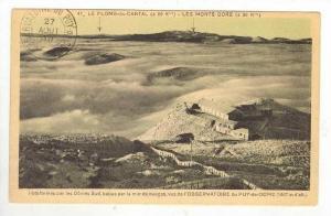 l'Observatorie du PUY-de-DOME, France, 1927