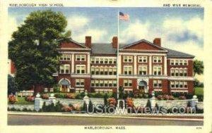 Marlboro High School - Marlborough, Massachusetts MA
