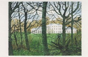 Hampstead Heath Kenwood Woods Winter London Painting Postcard