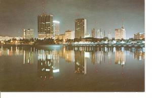 Postal 046299 : Miami Florida. Night capture