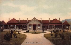 Waihi Hospital & Grounds, New Zealand, Early Postcard, Unused