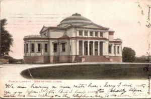 Connecticut Branford Public Library 1906