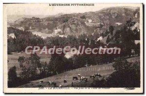 Old Postcard La Bourboule View Jack La Vallee De Vendeix