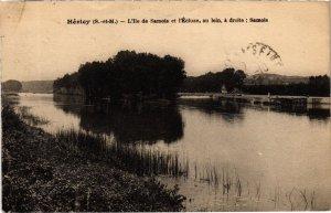 CPA Hericy - L'Ile de Samois et l'Ecluse - Au Lonin a Droite Samois (1038922)