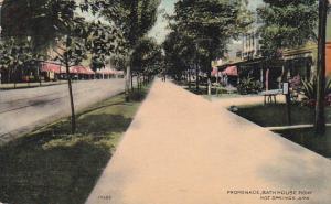 Arkansas Hot Springs Promenade Bath House Row 1909