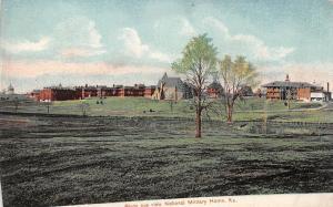 Kansas~Birds Eye view National Millitary Home~1910 Postcard