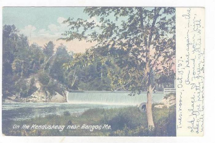 On The Kenduskeag Near Bangor, Maine, PU-1907