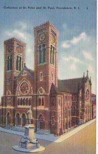 Rhode Island Providence Cathedral Of St Peter and St Paul 1941