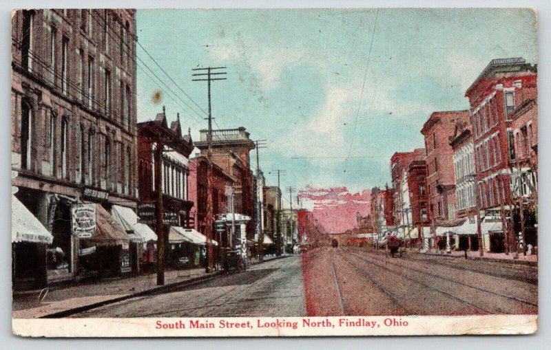 Findlay Ohio~S Main Street~People's Credit Clothing~Millinery~Bee Hive Store~'11