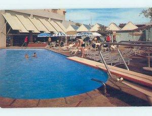 Pre-1980 HOTEL SCENE Fresno California CA AE1262