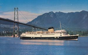 C. P. R. Princess Of Nanaimo, Oceanliner/Steamer/Ship, VANCOUVER CITY, B.C., ...