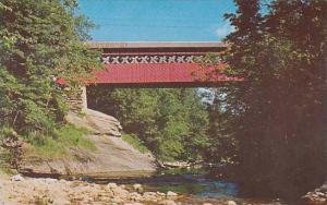 Covered Bridge Chiselville Road Bridge Sunderland Vermont