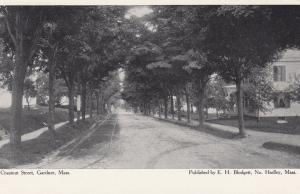 GARDNER , Massachusetts , 1901-07; Chestnut Street (dirt)