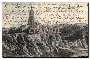 Postcard Ancient Roman Saints Les Arenes and Quartier St Eutrope