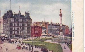 New York Buffalo Lafayette Square