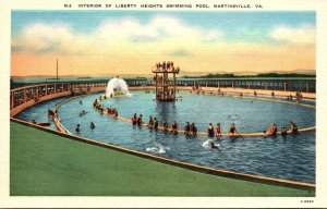 Virginia Martinsville Liberty Heights Swimming Pool