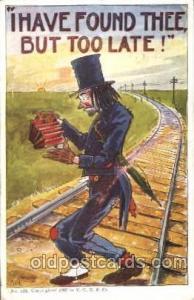 Artist Von Hartman Comic, Comics Postcard Post Card  Artist Von Hartman