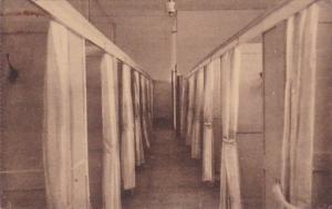 Belgium Luingne Pensionnat des Soeurs de St Charles Un dortoir 1933