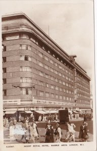 England London Mount Royal Hotel Marble Arch 1951 Real Photo sk3370