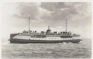 RP: VLISSINGEN, Netherlands , 1950s; Steamer M.V. Koningin Juliana