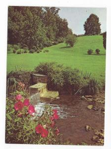 DuPont Winterthur Museum Gardens DE Rose Mallows Waterfall