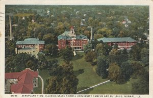 NORMAL, Illinois, 1925; Aeroplane View, State Normal University Campus & Bldgs.