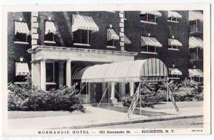 Normandie Hotel, Rochester NY
