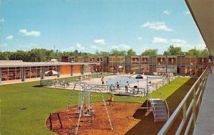 Ann Arbor MI Safe Playground & Swimming Pool~ Holiday Inn~2900 Jackson Blvd 1962