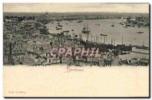 Old Postcard Bordeaux