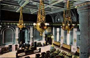 Pennsylvania Harrisburg Senate Chamber In Pennsylvania's New Capitol